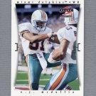 1997 Score Football #064 O.J. McDuffie - Miami Dolphins