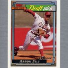 1992 Topps Baseball Gold Winners #504 Aaron Sele RC - Boston Red Sox