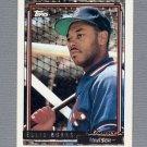 1992 Topps Baseball Gold Winners #416 Ellis Burks - Boston Red Sox