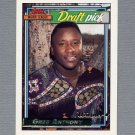 1992 Topps Baseball Gold Winners #336 Greg Anthony RC - San Diego Padres