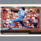 1992 Topps Baseball Gold Winners #281 Kevin Appier - Kansas City Royals