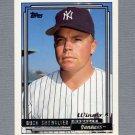 1992 Topps Baseball Gold Winners #201 Buck Showalter MG RC - New York Yankees
