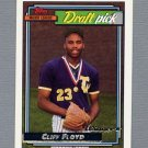1992 Topps Baseball Gold Winners #186 Cliff Floyd RC - Montreal Expos
