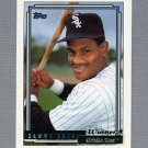 1992 Topps Baseball Gold Winners #094 Sammy Sosa - Chicago White Sox