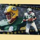 1996 Topps Football Broadway's Reviews #BR4 Brett Favre - Green Bay Packers