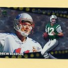1996 Topps Football Broadway's Reviews #BR2 Drew Bledsoe - New England Patriots