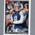 1996 Topps Football 40th Anniversary Retros #36 Troy Aikman - Dallas Cowboys