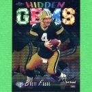 1998 Topps Chrome Football Hidden Gems #HG06 Brett Favre - Green Bay Packers