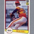 1982 Donruss Baseball #419 Nolan Ryan - Houston Astros