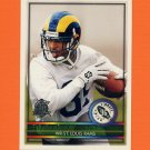 1996 Topps Football #437 Eddie Kennison RC - St. Louis Rams