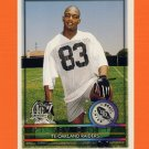 1996 Topps Football #421 Rickey Dudley RC - Oakland Raiders