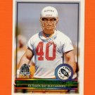 1996 Topps Football #419 Mike Alstott RC - Tampa Bay Buccaneers