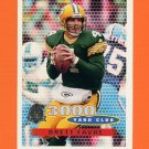 1996 Topps Football #371 Brett Favre TYC - Green Bay Packers