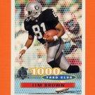 1996 Topps Football #248 Tim Brown TYC - Oakland Raiders