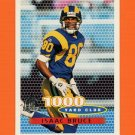 1996 Topps Football #242 Isaac Bruce TYC - St. Louis Rams