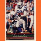 1996 Topps Football #100 Marshall Faulk - Indianapolis Colts