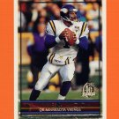 1996 Topps Football #068 Warren Moon - Minnesota Vikings