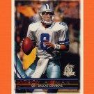 1996 Topps Football #001 Troy Aikman - Dallas Cowboys
