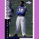 1998 Score Football #235 Randy Moss RC - Minnesota Vikings