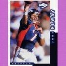 1998 Score Football #001 John Elway - Denver Broncos