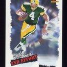 1996 Score Football #245 Brett Favre SE - Green Bay Packers
