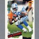 1996 Score Football #244 Barry Sanders SE - Detroit Lions