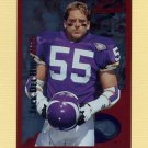 1995 Score Football Red Siege #181 Jack Del Rio - Minnesota Vikings