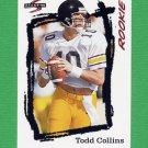 1995 Score Football #273 Todd Collins RC - Buffalo Bills