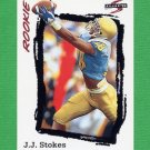 1995 Score Football #263 J.J. Stokes RC - San Francisco 49ers