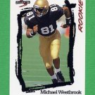 1995 Score Football #253 Michael Westbrook RC - Washington Redskins