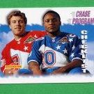 1995 Score Football #235 John Elway / Barry Sanders CL - Broncos / Lions