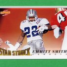 1995 Score Football #206 Emmitt Smith SS - Dallas Cowboys