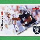 1995 Score Football #077 Tim Brown - Oakland Raiders