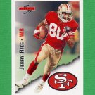 1995 Score Football #003 Jerry Rice - San Francisco 49ers