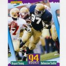 1994 Score Football #282 Bryant Young RC - San Francisco 49ers