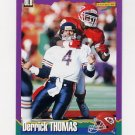 1994 Score Football #257 Derrick Thomas - Kansas City Chiefs