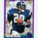 1994 Score Football #237 Natrone Means - San Diego Chargers