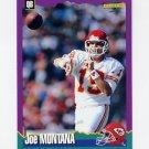 1994 Score Football #067 Joe Montana - Kansas City Chiefs