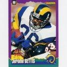 1994 Score Football #021 Jerome Bettis - Los Angeles Rams ExMt