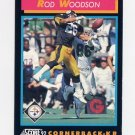 1992 Score Football #375 Rod Woodson - Pittsburgh Steelers