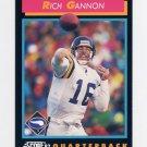 1992 Score Football #372 Rich Gannon - Minnesota Vikings