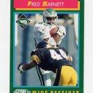 1992 Score Football #253 Fred Barnett - Philadelphia Eagles