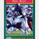 1992 Score Football #231 Terry Allen - Minnesota Vikings