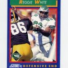 1992 Score Football #025 Reggie White - Philadelphia Eagles