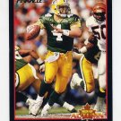 1993 Pinnacle Football Men of Autumn #37 Brett Favre - Green Bay Packers