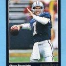 1993 Pinnacle Football #350 Steve Beuerlein - Phoenix Cardinals