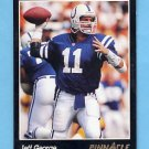 1993 Pinnacle Football #326 Jeff George - Indianapolis Colts NM-M