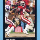 1993 Pinnacle Football #202 John Taylor - San Francisco 49ers