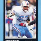 1993 Pinnacle Football #165 Mike Munchak - Houston Oilers