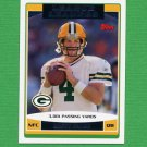 2006 Topps Football #286 Brett Favre LL - Green Bay Packers